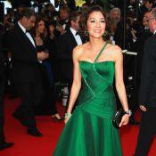 Michelle Yeoh, une L'Oréal Girl scintillante...