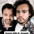 Anthony Colette et son kiné, le 6 décembre 2018.