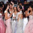 Vanessa Ponce de Leon élue Miss Monde 2018, en Chine, le 8 décembre 2018