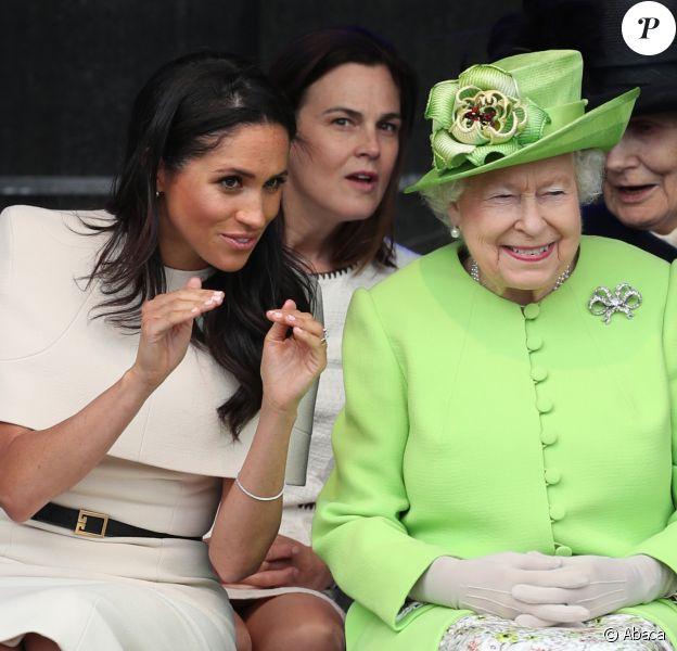 Samantha Cohen avait accompagné Meghan Markle pour son premier engagement avec la reine Elizabeth II en juin 2018.
