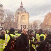 Gilets jaunes : Uma Thurman et Pierre Perret au milieu des manifestants !