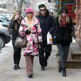 Paris, Nicki et Conrad Hilton à Aspen. Décembre 2011.