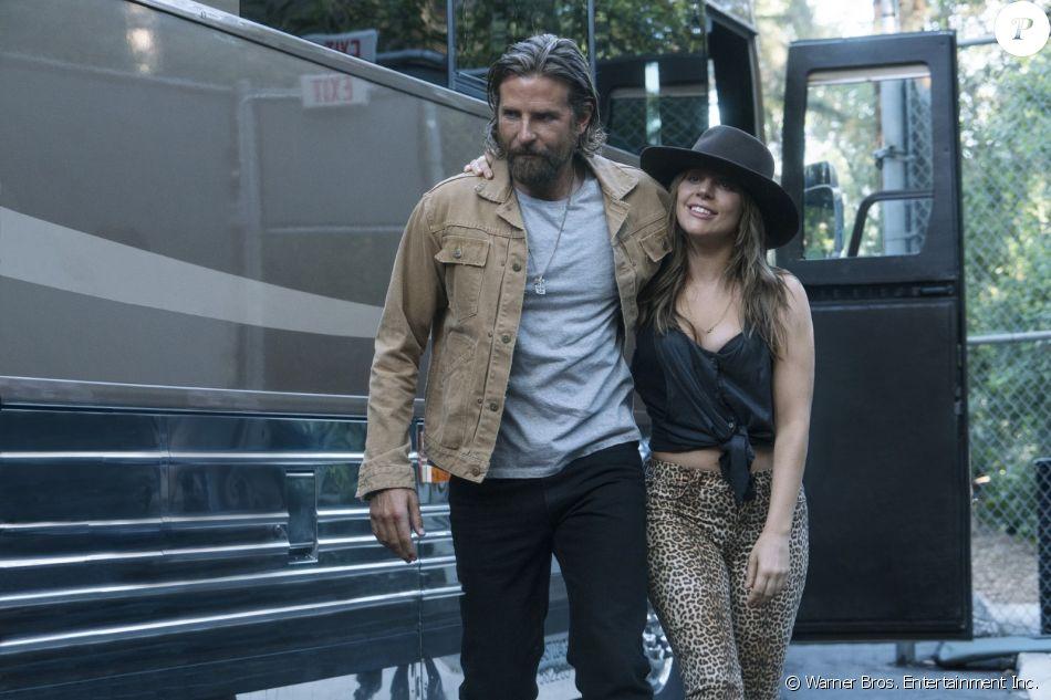 "Bradley Cooper et Lady Gaga dans ""A Star Is Born"", sorti le 3 octobre 2018."