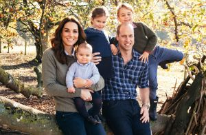Louis, Charlotte et George de Cambridge: 1re carte de Noël à 5 pour Will et Kate