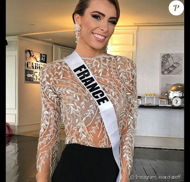 Eva Colas représentante de la France à Miss Univers 2018 - Instagram, 12 décembre 2018