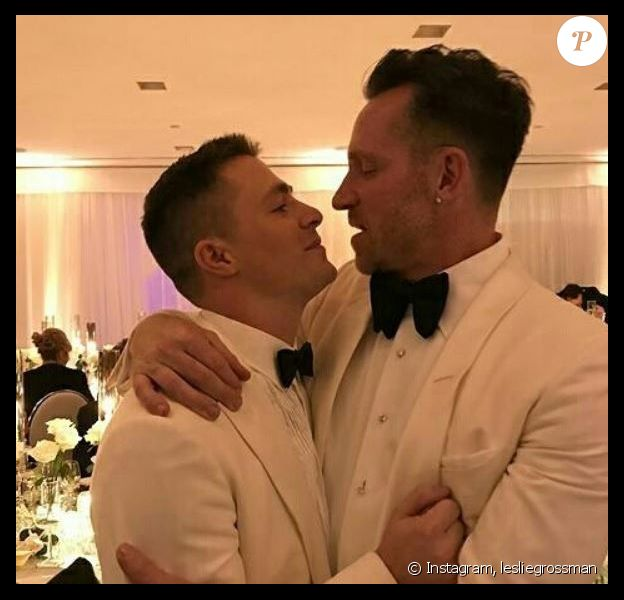 Mariage de l'acteur Colton Haynes et Jeff Leatham. Octobre 2017