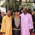 Une délégation de réalisateurs africains lors de la projection du film A l'origine le 21 mai 2009 à Cannes