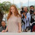 Lily Cole lors du photocall de L'Imaginarium du Docteur Parnassus le 22 mai 2009 dans le cadre du Festival de Cannes
