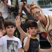 Céline Dion au naturel pour Noël : son nouveau portrait de famille avec ses fils