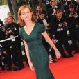 Isabelle Huppert au festival de Cannes 2009