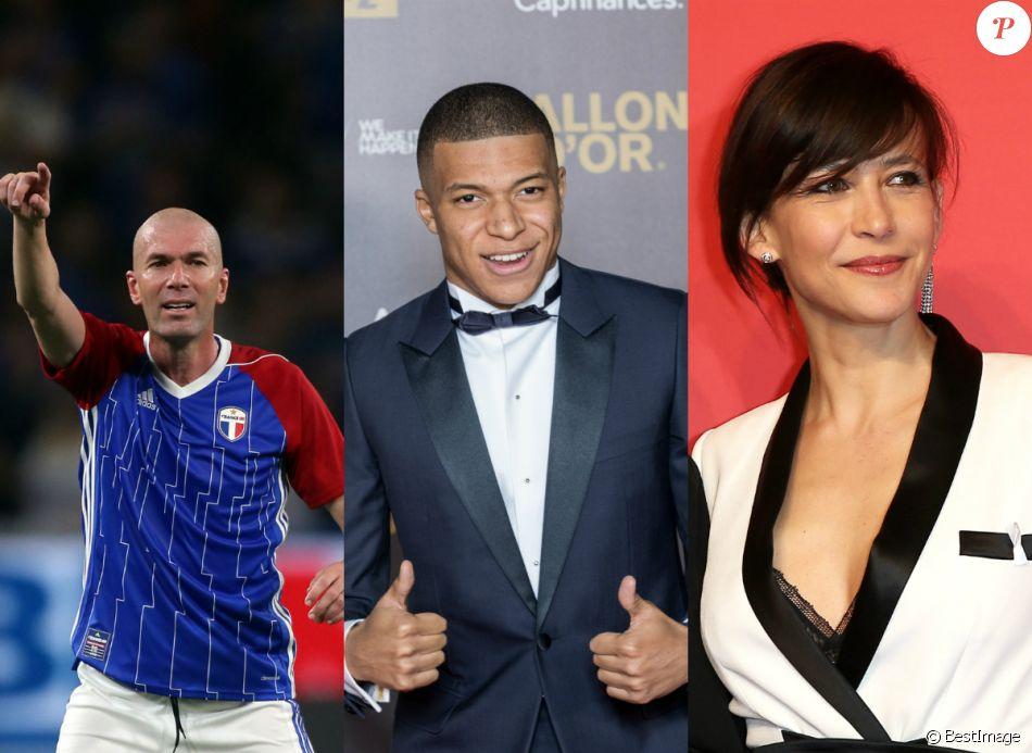 Zinédine Zidane, Kylian Mbappé et Sophie Marceau font partie du top 50 des personnalités préférées des Français.