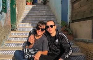 Alizée et Grégoire Lyonnet amoureux au Maroc : Le couple prend la pose !