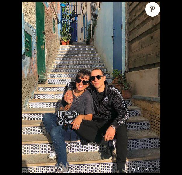 Alizée et Grégoire Lyonnet au Maroc le 30 décembre 2018.