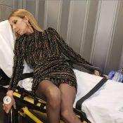 Céline Dion, déchaînée au concert de Lady Gaga, termine sur un brancard