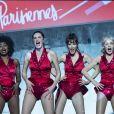 """Exclusif - Inna Modja, Helena Noguerra, Mareva Galanter, Arielle Dombasle - Première du spectacle """"Les Parisiennes"""" aux Folies Bergères à Paris le 24 mai 2018."""