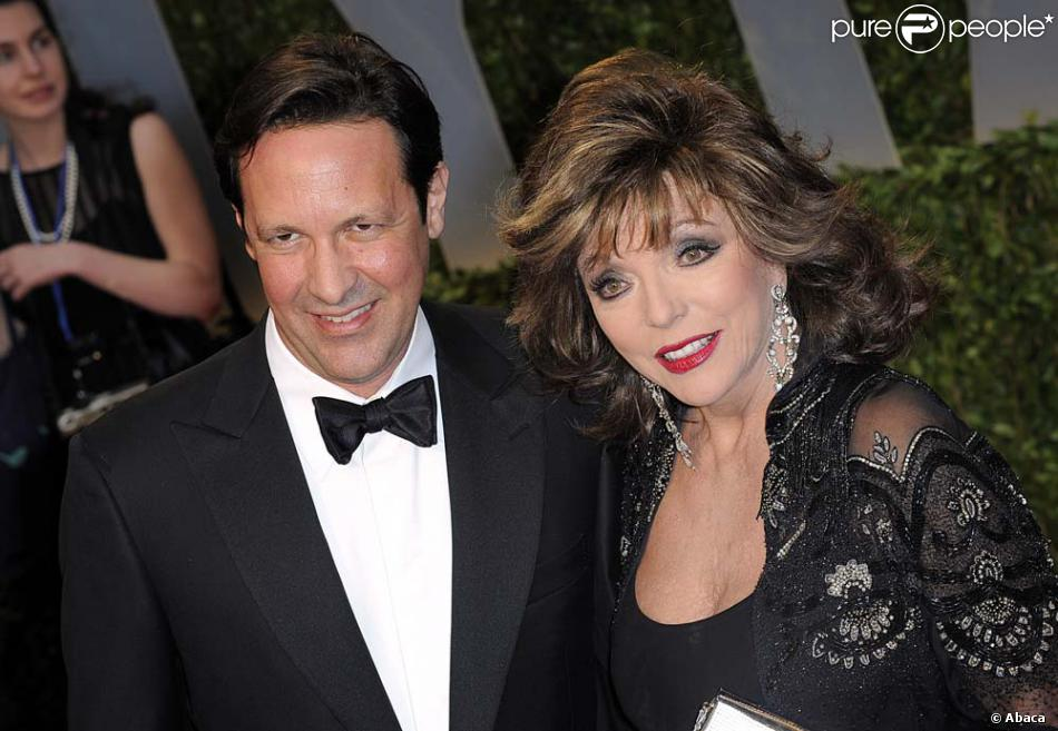 Joan Collins Et Percy Gibson Pics For