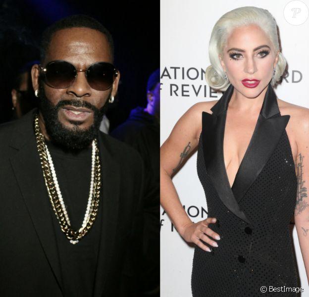 R. Kelly et Lady Gaga.