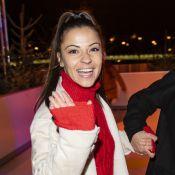 Denitsa Ikonomova et Héloïse Martin réunies avec Dani pour une soirée patinoire