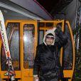 """Exclusif - La chanteuse Dani - La compagnie des bateaux-mouches fête ses 70 ans et inaugure pour l'occasion le premier Rooftop d'altitude """"Hors Piste"""" à Paris, le 10 janvier 2019. © Pierre Perusseau/Bestimage"""