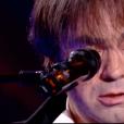 """Frédéric Longbois, habité, dans """"The Voice 7"""" sur TF1, le 3 février 2018."""