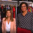 """Rebecca, candidate des """"Reines du shopping"""" (M6) avec sa belle-mère Sandrine la semaine du 21 janvier 2019."""
