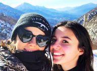Alizée : Maman complice avec Annily et heureuse à la neige avec Grégoire