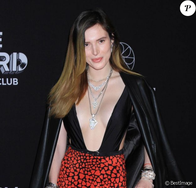 Bella Thorne à la soirée On The Record au Park MG à Las Vegas, le 19 janvier 2019.