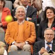 Jean-Loup Dabadie lors du tournoi de Roland Garros le 27 mai 2009
