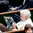 Pierre Richard lors du tournoi de Roland Garros le 27 mai 2009