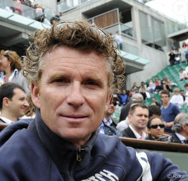 Denis Brogniart à Roland Garros le 27 mai 2009