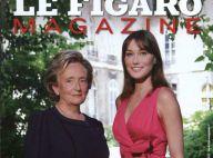 """Carla Bruni-Sarkozy et Bernadette Chirac, la rencontre : """"Carla est la première dame d'une France jeune qui change tous les jours"""""""