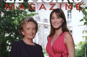 Carla Bruni-Sarkozy et Bernadette Chirac, la rencontre :