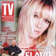 Flavie Flament en couverture de TV Mag