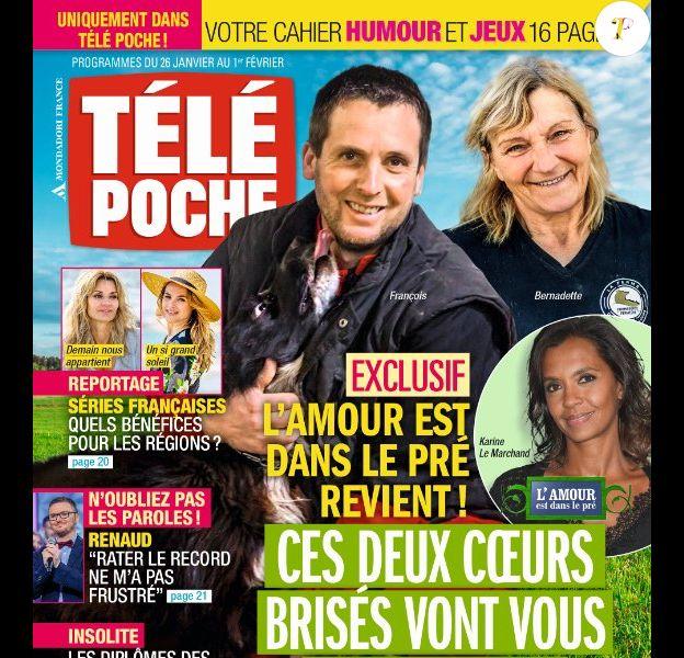 Magazine Télé Poche en kiosques le 19 janvier 2019.