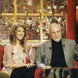 """Archives - Garou, Céline Dion et son mari René Angelil - Enregistrement de l'émission """"Vivement Dimanche"""" avec C.Dion comme invitée. Le 18 mars 2002 © Patrick Carpentier / Bestimage"""
