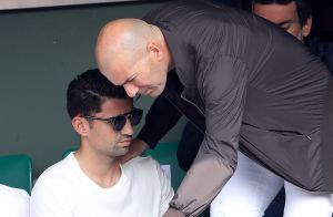 Zinédine Zidane : Son fils Enzo heureux, toujours inséparable d'une jolie blonde