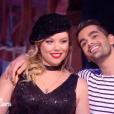 """Héloïse Martin et Christophe Licata lors des quarts de finale de """"Danse avec les stars 9"""" (TF1) samedi 17 novembre 2018."""