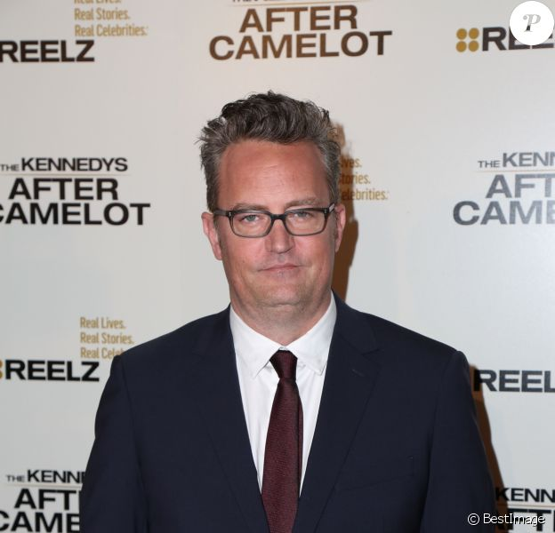 Matthew Perry à la première de The Kennedys - After Camelot au Paley Center For Media à Beverly Hills, le 15 mars 2017