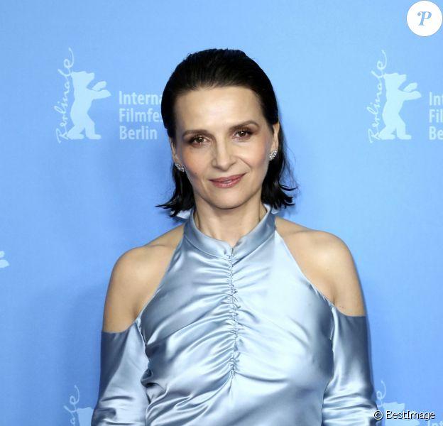 """Juliette Binoche - Première du film """"Celle que vous croyez"""" lors du 69ème Festival International du Film de Berlin, La Berlinale. Le 10 février 2019"""