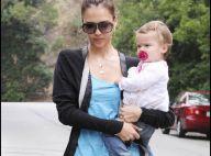 La belle Jessica Alba et son adorable Honor... balade intime entre mère et fille !
