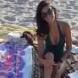 La belle Tatiana Silva, sublime en maillot de bain. Instagram.