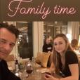 David Hallyday et sa fille Emma Smet - Instagram, vendredi 15 février 2019
