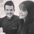 """Guillaume, candidat de """"Top Chef 10"""" sur M6, se dévoile amoureuse au côté de sa chérie la belle Marlène."""