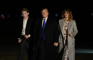 Donald Trump : Virée en Floride avec Melania et Barron, géant à seulement 12 ans