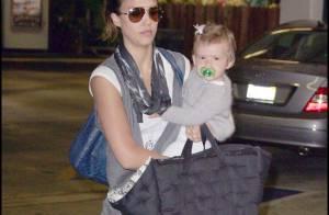 Jessica Alba et sa fille : concours pour le plus beau sourire ! Oui, mais non !