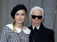 """Karl Lagerfeld : Diane Kruger effondrée d'être arrivée """"trop tard""""..."""