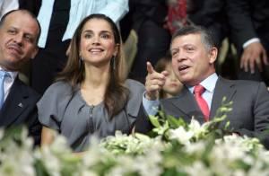 La belle Rania et Abdullah de Jordanie, très complices... auraient-ils trouvé la vocation de leur petit Prince ?