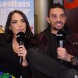 Julien Tanti et Manon Marsault en interview pour Purepeople - 13 février 2019