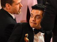 Rami Malek (Bohemian Rhapsody) : Le lauréat chute avec son Oscar !