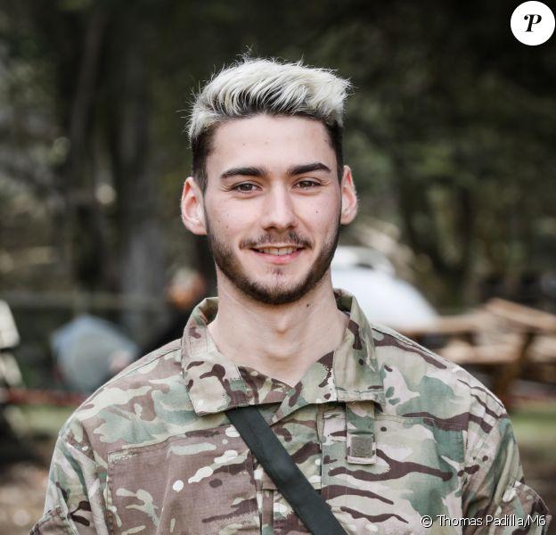 """Patrick (22 ans), candidat du """"Sens de l'effort"""" sur M6."""